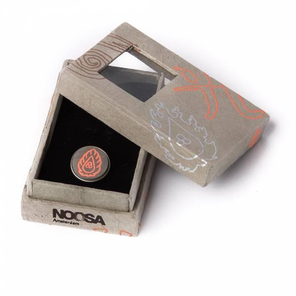 Noosa Chunk KA orange stone in Giftbox