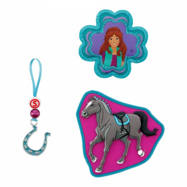 Step by Step Magic Mags Schleich 3-teilig Horse Club Lisa & Storm - Magnet-Set