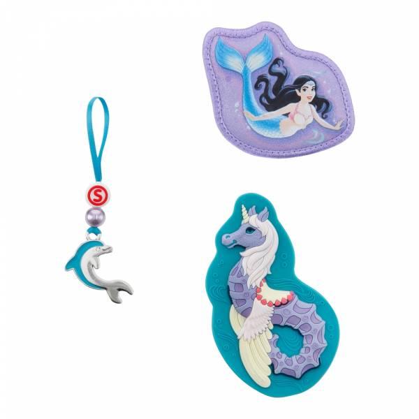 Step by Step Magic Mags Schleich 3-teilig bayala®, Seahorse - Magnet-Set