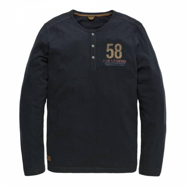 PME Legend Long Sleeve R-Neck Slub Jersey