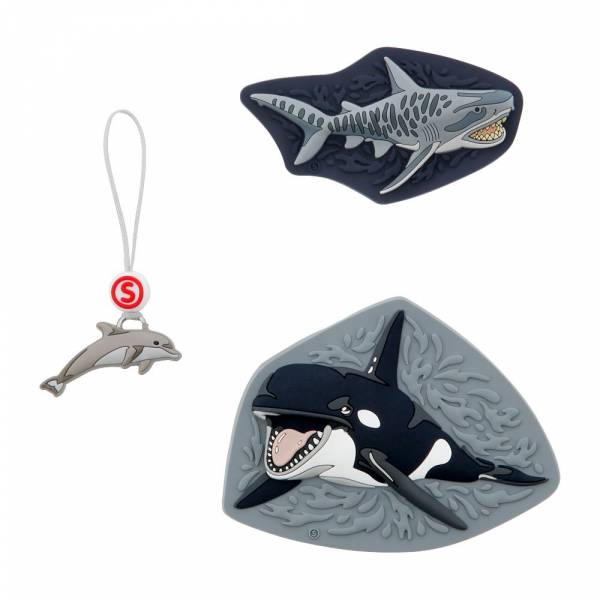 Step by Step Magic Mags Schleich 3-teilig Wild Life Orca - Magnet-Set