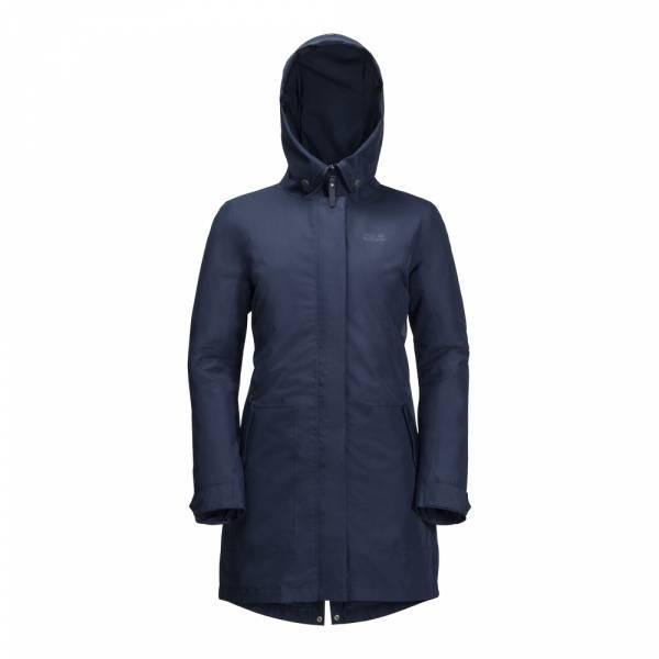JACK WOLFSKIN Monterey Bay Coat Women midnight blue - Doppeljacke