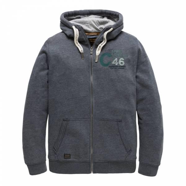 PME Legend Hooded Jacket Brushed Fleece Sweater PSW191404 - Sweatjacke