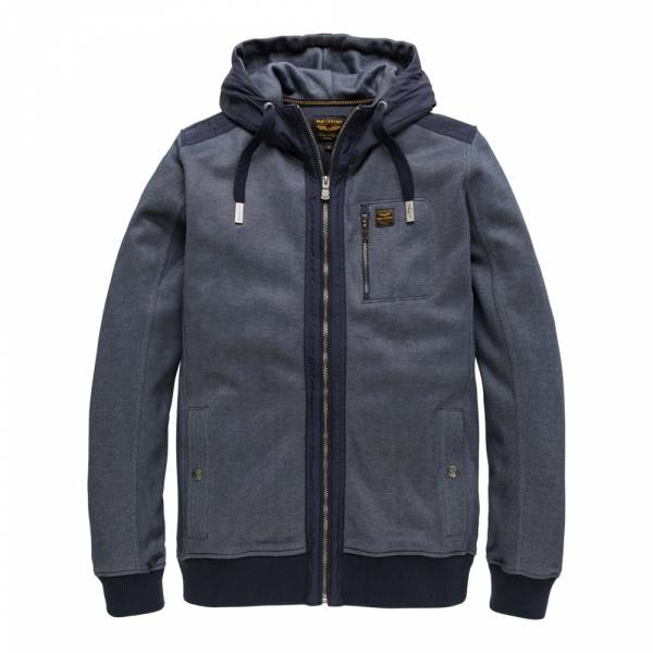 PME Legend Zip Jacket Two Tone Interlock salute - Zip-Hoodie