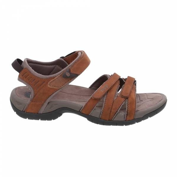 Teva Tirra Leather Women's rust - Outdoor-Sandale