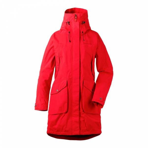 Didriksons Thelma Women´s Parka 2 chili red - Outdoormantel