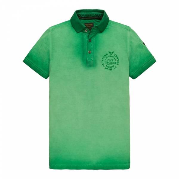 PME Legend Short Sleeve Polo Light Pique Cold Dye - Poloshirt