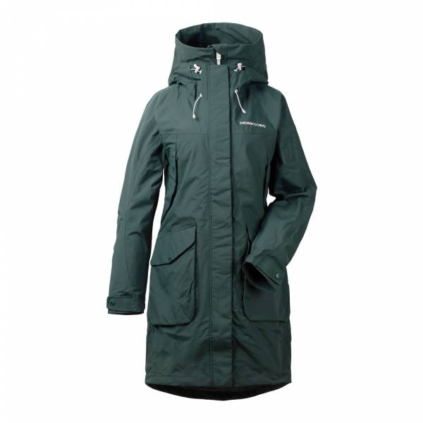 Didriksons Thelma Women's Parka 3 north sea Regenparka