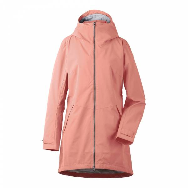 Didriksons Folka Women´s Parka 2 coral rose - Outdoormantel