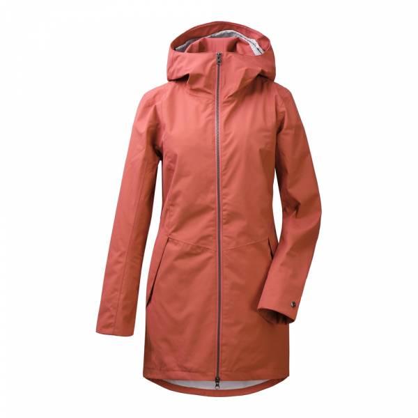 Didriksons Folka Women's Parka 3 pink blush - Regenmantel