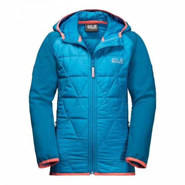low cost a7904 6a11a JACK WOLFSKIN Girls Grassland Hybrid Jacket - Softshelljacke
