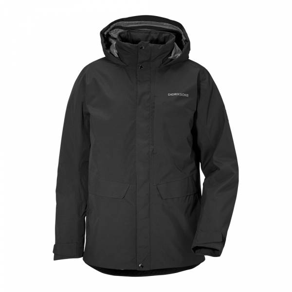 Didriksons Tommy Men's Jacket black - Winterjacke