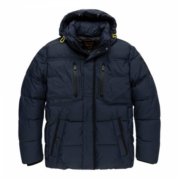 PME Legend Hooded Jacket Recycled Nylon Snowburst 4.0 - Steppjacke
