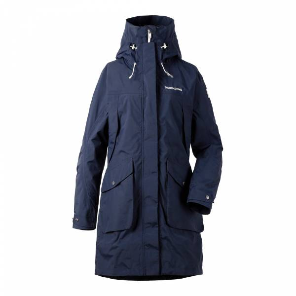 Didriksons Thelma Women´s Parka 2 navy - Outdoormantel