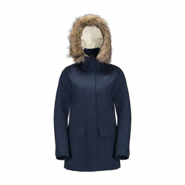 JACK WOLFSKIN Helsinki Jacket Women midnight blue - Winterjacke