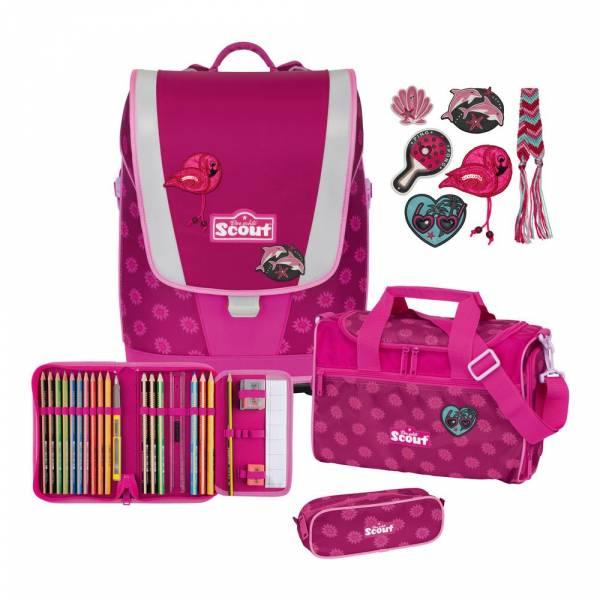 Scout Ultra Schulranzen-Set 4tlg. Pink Daisy