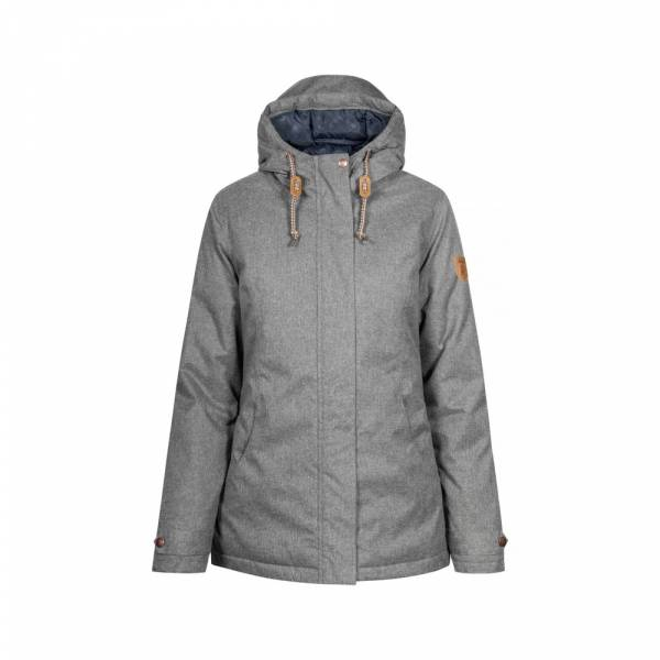 Derbe Bloody Mary grey melange - Winterjacke