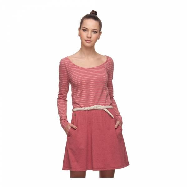 Ragwear Daya Organic dusty red - Kleid