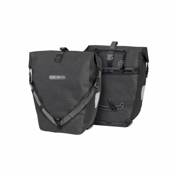 Ortlieb Back-Roller Plus QL2.1 granit-schwarz - Fahrradtasche