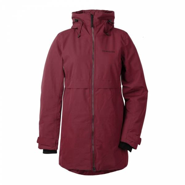 Didriksons Helle Womens Parka 2 anemon red - Winterparka