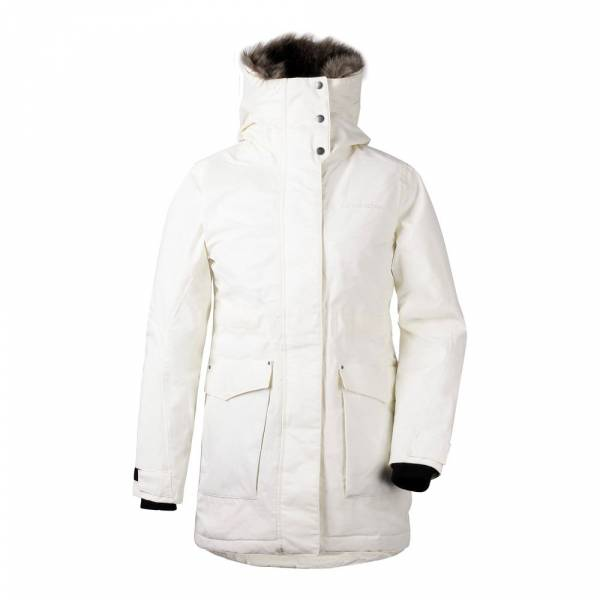 Didriksons Meja Women's Parka organic white - Winterjacke
