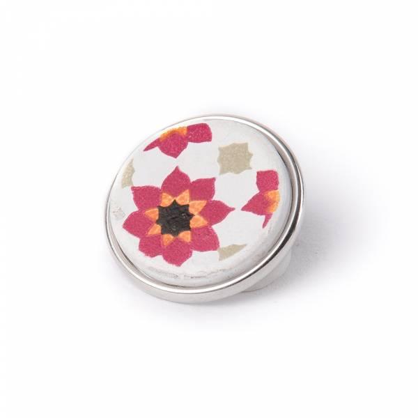Noosa Chunk 116 Souk Tile pink/ white-ceramic