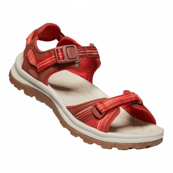 Keen Terradora II Open Toe Sandal Women dark red/coral - Wandersandale