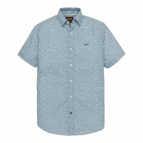 PME Legend Short Sleeve Shirt Poplin Print PSIS193210 - Hemd