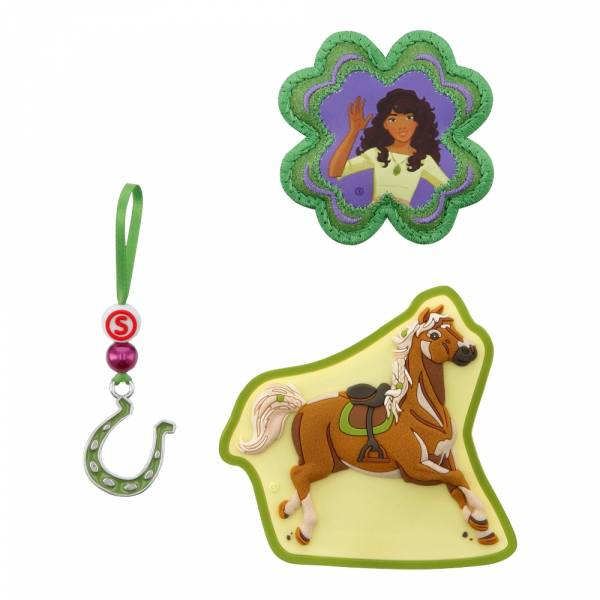 Step by Step Magic Mags Schleich 3-teilig Horse Club Sarah & Mystery - Magnet-Set