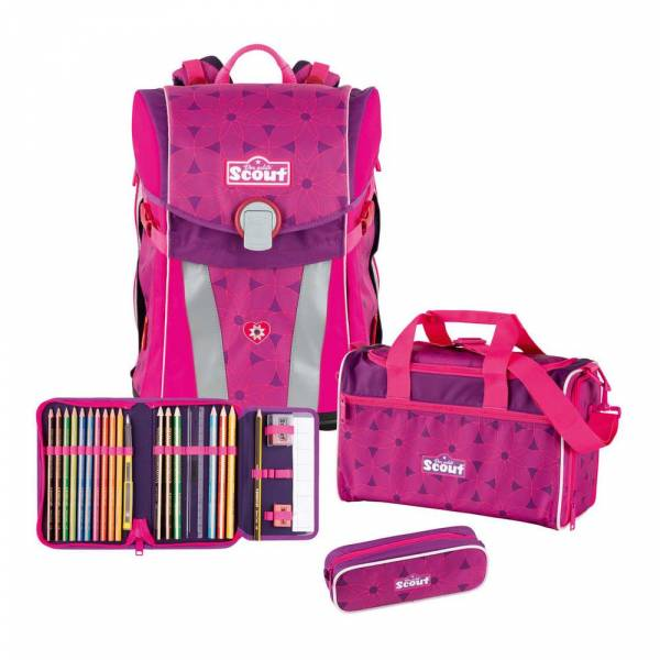 Scout Sunny Set 4-teilig Pink Flowers