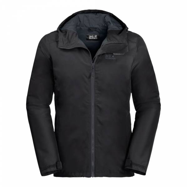 JACK WOLFSKIN Chilly Morning Men black - Wanderjacke