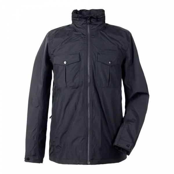 Didriksons Klemens Men's Jacket black - Funktionsjacke