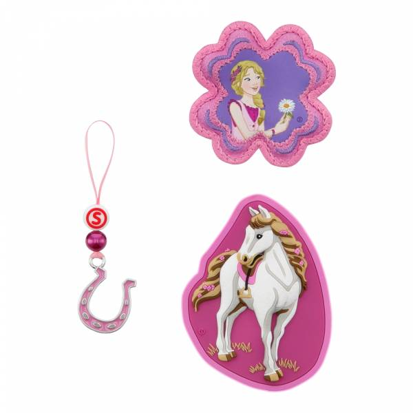 Step by Step Magic Mags Schleich 3-teilig Horse Club Sofia & Blossom - Magnet-Set