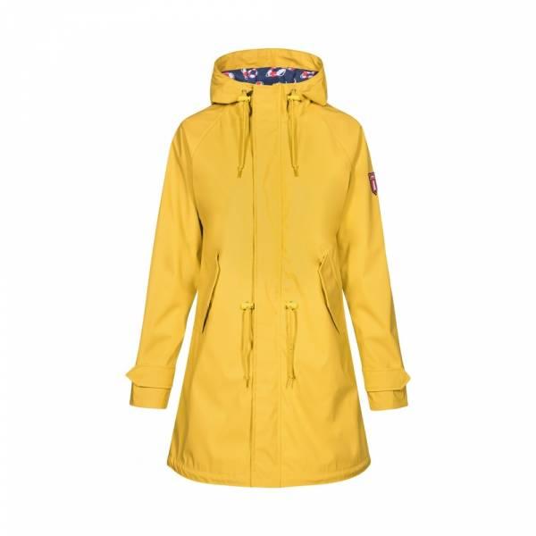 Derbe Travel Friese Lifesaver yellow Regenmantel