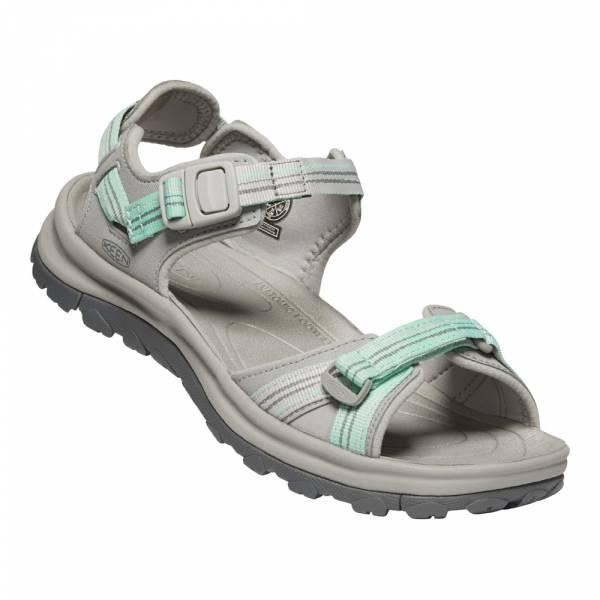 Keen Terradora II Open Toe Sandal Women light gray/ocean wave - Wandersandale