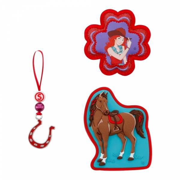 Step by Step Magic Mags Schleich 3-teilig Horse Club Hannah & Cayenne - Magnet-Set