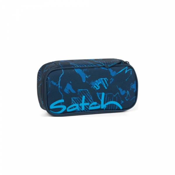Satch Schlamperbox Blue Compass - Etui