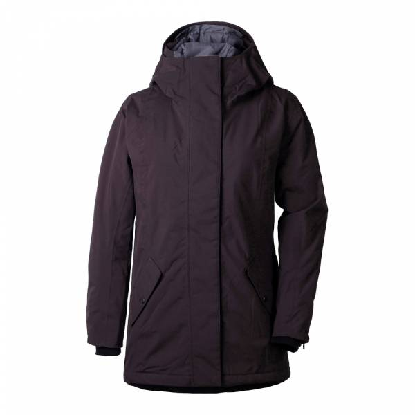Didriksons Marie Women's Parka chocolate brown - Wintermantel
