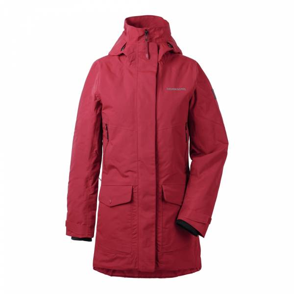 Didriksons Frida Women's Parka 3 element red