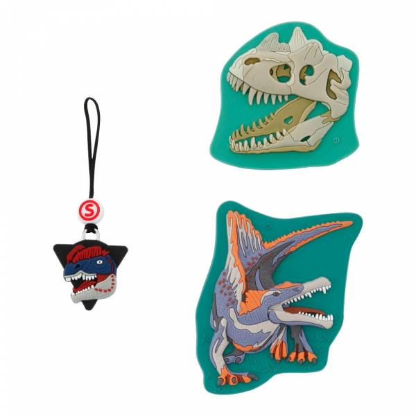 Step by Step Magic Mags Schleich 3-teilig Dinosaurs Spinosaurus - Magnet-Set