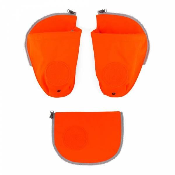 Ergobag Pack Seitentaschen Zip-Set 3-teilig orange